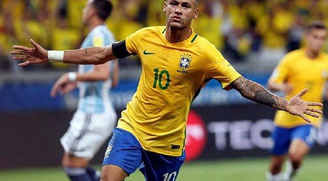 Неймар забив ювілейний гол за збірну Бразилії – рекорд Пеле все ближче