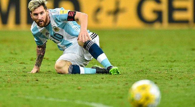 Сборная Аргентины вляпалась в дерьмо, ноги не слушаются, – Месси