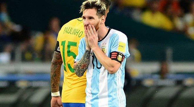 Месси в пятый раз унизительно проиграл с Аргентиной
