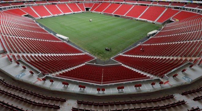 Мегастадіон у Бразилії, який приймав 7 матчів ЧС-2014, використовують як автостоянку