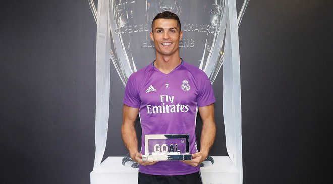 Роналду признан лучшим игроком 2016 года, Месси выпал из топ-3 по версии СМИ