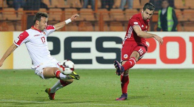 Як Вірменія вирвала неймовірну перемогу у Чорногорії, поступаючись 0:2 у відборі до ЧС-2018
