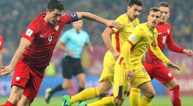 Як Лєвандовскі забив гол Румунії після пасу Теодорчика