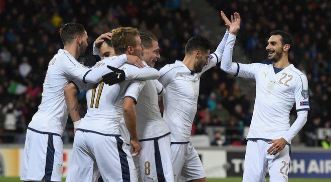 Отбор ЧМ-2018: Италия и Испания громят соперников, Бейл не спас Уэльс