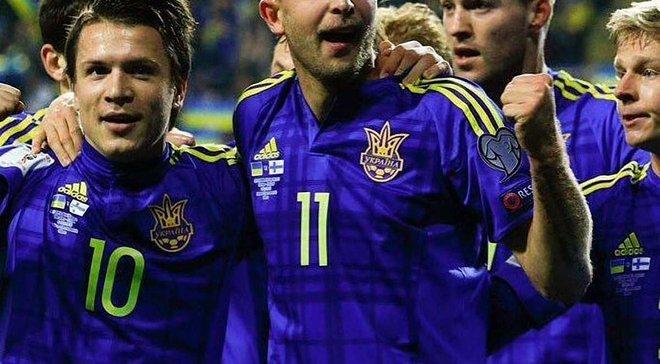 """Украина – Финляндия: """"Заря"""" гордится, что Коноплянка на матч выходил с Матвеем Каменюкой"""
