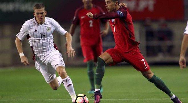 Відбір до ЧС-2018. Роналду не дав Португалії осоромитись проти Латвії, Бельгія познущалась над Естонією