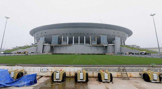 На будівництві стадіону ЧС-2018 у Санкт-Петербурзі знайшли труп громадянина Північної Кореї