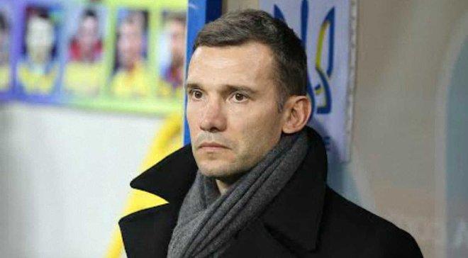 Шевченко: В расширенном списке сборной Украины 50 футболистов, есть пару интересных молодых игроков