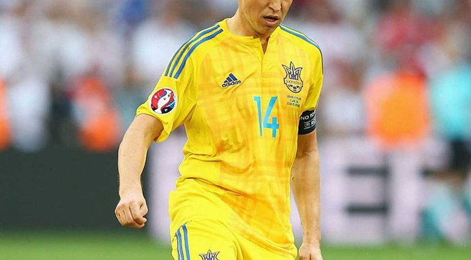 Ротань догнал Шовковского по количеству матчей в сборной Украины