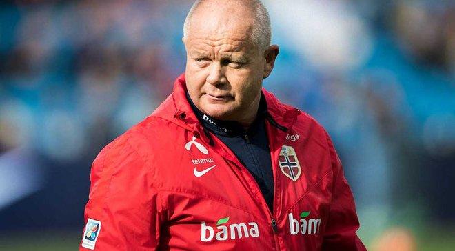 Офіційно: Головного тренера збірної Норвегії відправили у відставку