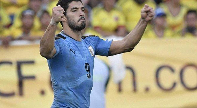 Суарес може бути дискваліфікований за непристойний жест на адресу фанатів збірної Чилі
