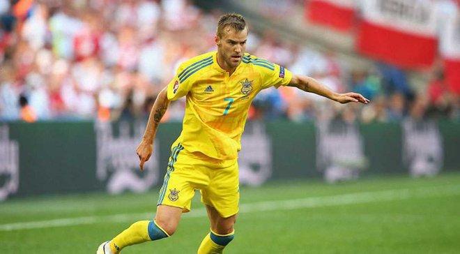 Ярмоленко побил рекорд Шевченко в сборной Украины
