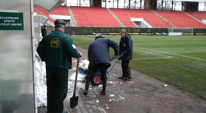 """""""Олімпік"""" – """"Чорноморець"""": Матч опинився під загрозою зриву"""