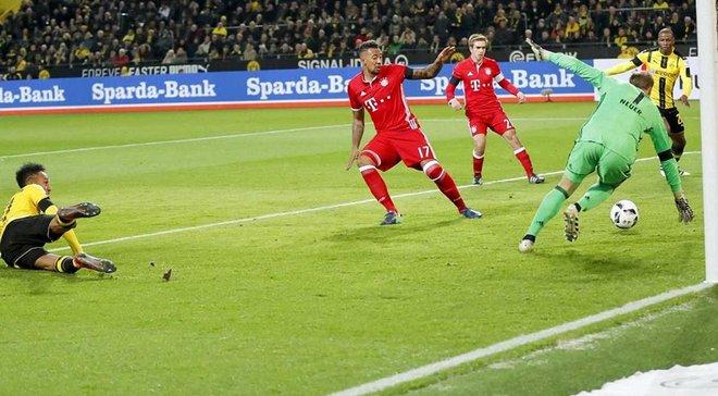"""Як Обамеянг віджиманнями святкував свій гол у ворота """"Баварії"""""""