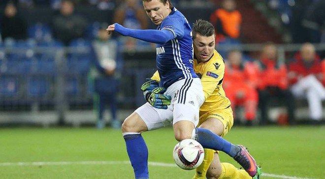Коноплянка претендует на звание лучшего игрока 5 тура Лиги Европы