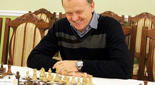 Дулуб встретился в шахматном поединке с выдающимся гроссмейстером Василием Иванчуком