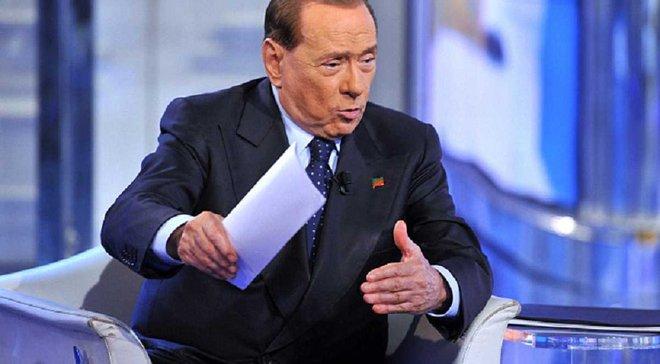 """Берлускони: Скоро я стану только историей """"Милана"""""""