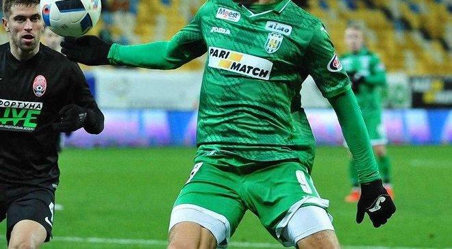 """Бланко-Лещук рассказал о своем состоянии после травмы в матче """"Карпаты"""" – """"Заря"""""""