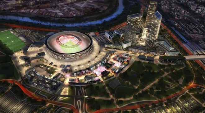 """Дональд Трамп может помочь """"Роме"""" построить новый стадион"""