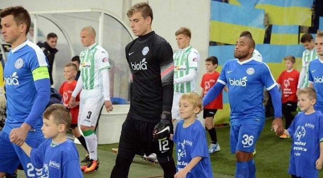 Лунін увійшов в топ-5 найбільш юних воротарів чемпіонату України