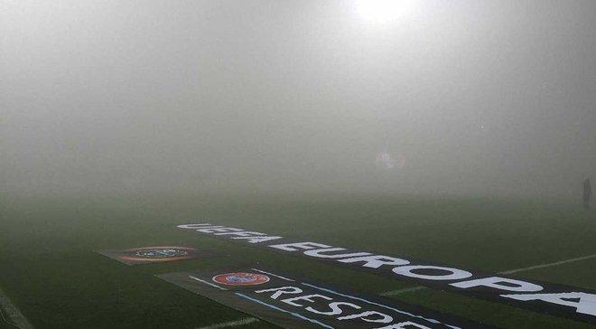 """Матч """"Сассуоло"""" – """"Генк"""" перенесен из-за тумана"""
