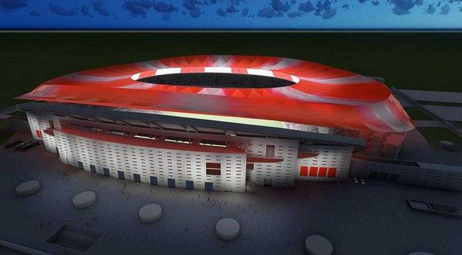 """Офіційно: Новий стадіон """"Атлетіко"""" називатиметься """"Ванда Метрополітано"""""""