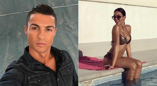 """Як Роналду засвітився з новою дівчиною під час матчу """"Реал"""" – """"Депортіво"""""""