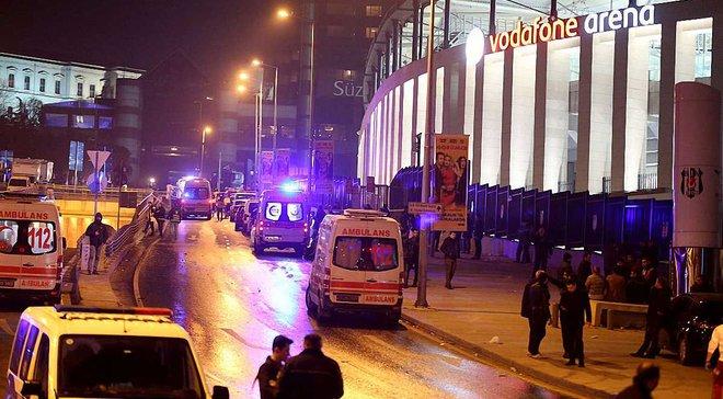 """Теракт возле стадиона """"Бешикташа"""": в результате взрывов погибло по меньшей мере 13 человек, – СМИ"""