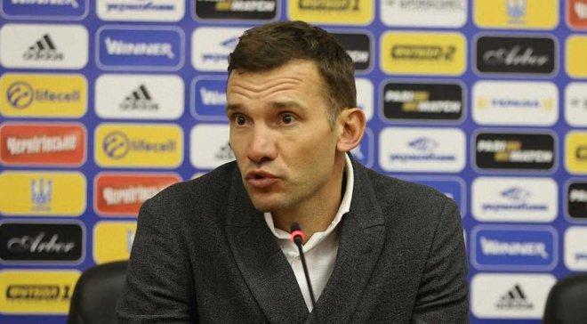Шевченко рассказал о возможном зимнем сборе сборной Украины