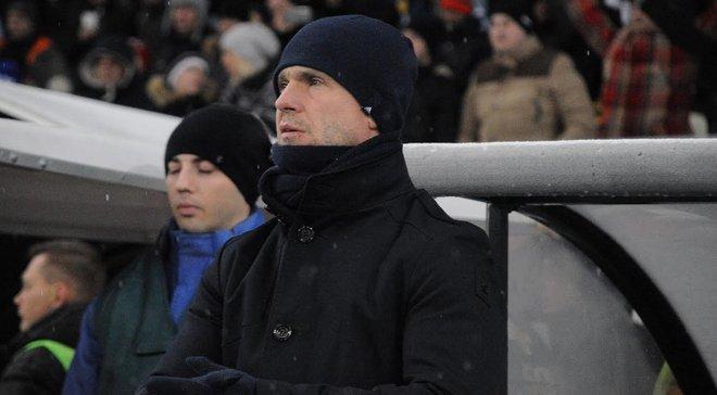 Шовковский в раздевалке попрощался с командой, – Ребров