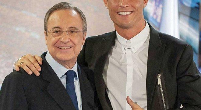 Роналду – монстр мирового футбола, – Флорентино Перес