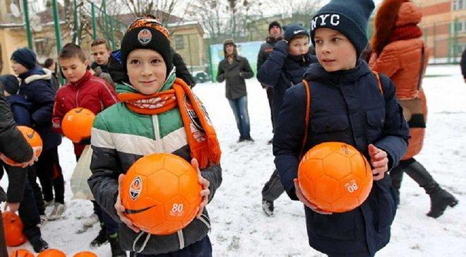 """""""Шахтар"""" привітав львівських дітей святковими подарунками"""