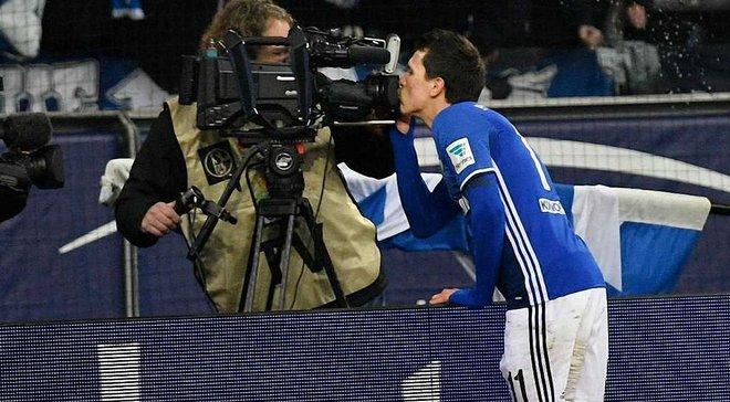 Как Коноплянка забил дебютный гол в Бундеслиге