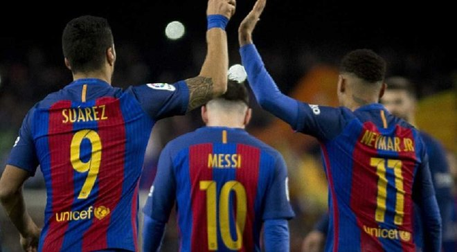 """Игроки """"Барселоны"""" получили по айфону на Рождество от президента клуба"""