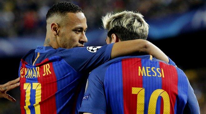 """Неймар: Сподіваюся, невдовзі Мессі підпише новий контракт з """"Барселоною"""""""