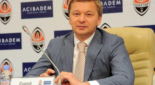 """Палкін прокоментував відхід Селезньова з """"Шахтаря"""""""