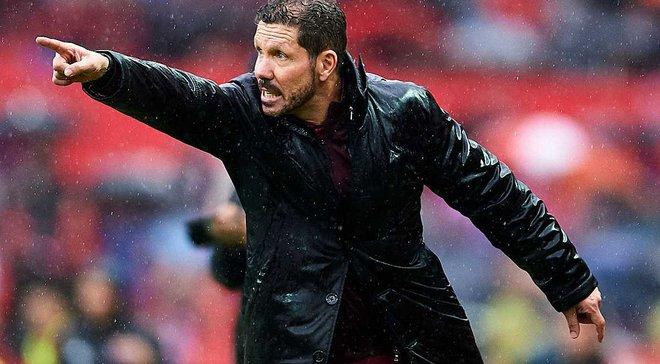 Симеоне признан лучшим клубным тренером мира по версии IFFHS
