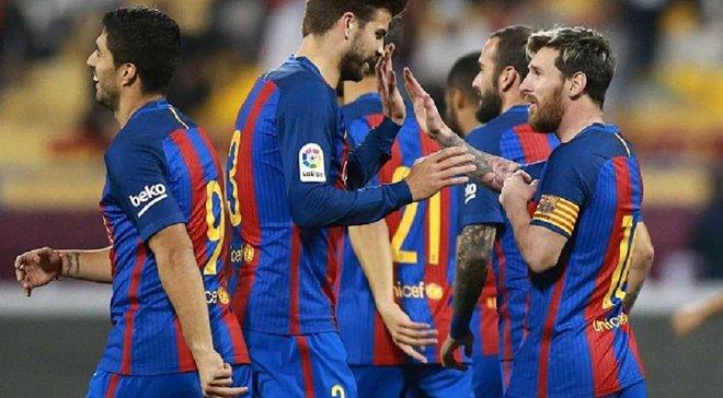 """""""Барселона"""" – лідер серед команд Прімери за середньою зарплатою у команді"""