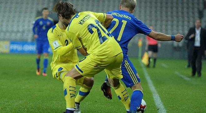 Усі головні суперники збірної України у відборі до ЧС-2018 зіграють товариські матчі взимку 2017-го