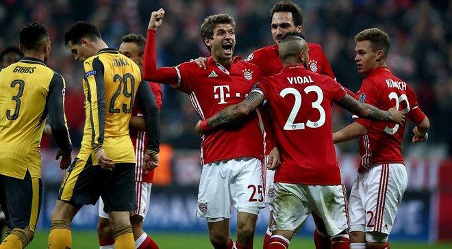 Футбол лига европы бавария арсенал