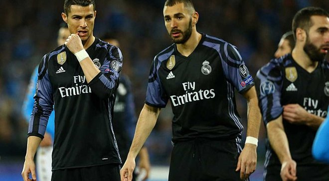 """Бейлу досталось от Роналду на тренировке """"Реала"""""""