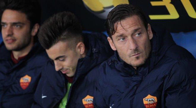 """Спаллетті пояснив, чому Тотті відмовився виходити на заміну в матчі """"Палермо"""" – """"Рома"""""""