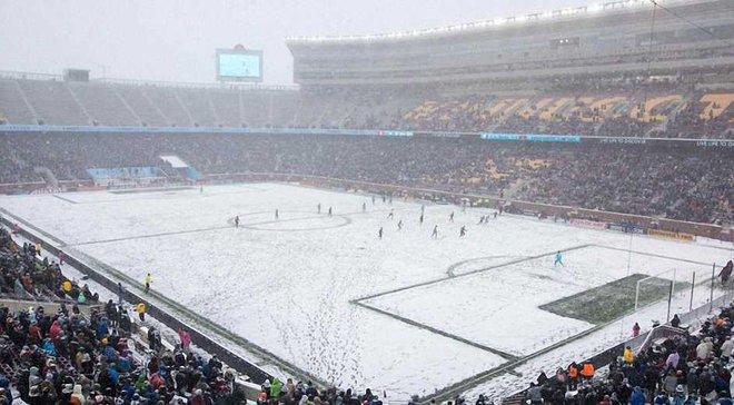 Матч в найхолоднішу погоду в історії МЛС зібрав 35 тисяч глядачів на стадіоні