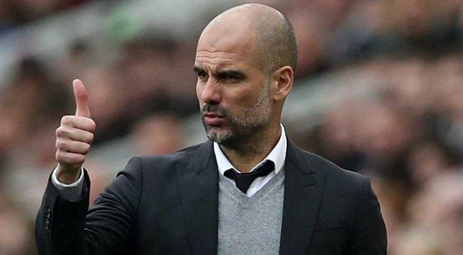 Гвардіола – найуспішніший тренер за підсумками перших 100 матчів в єврокубках