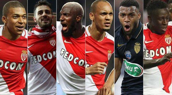 """Топ-6 молодих гравців """"Монако"""", на яких полює пів-Європи"""