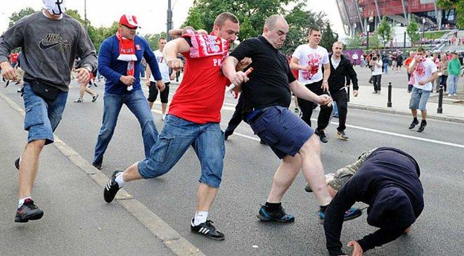 Польские фанаты осуждены на 1,5 года ограничения свободы за драку с россиянами на Евро-2012