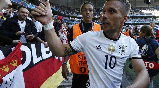 Германия – Англия: Команды определились с составами, Подольски сыграет прощальный матч