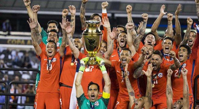 Копа Амеріка буде проходити в одні роки з Євро, гратимуть країни Північної і Південної Америки
