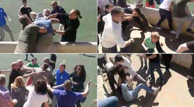 Шокуюча бійка батьків достроково завершила матч дитячих команд в Іспанії