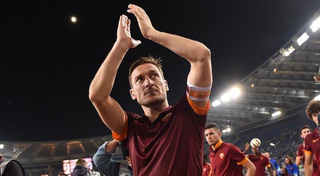 """""""Рома"""" запропонувала Тотті новий 6-річний контракт"""